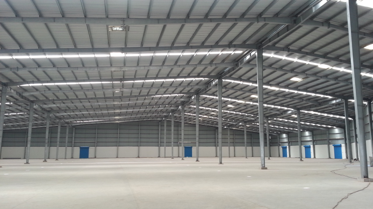 63000 Sq.ft Industrial Shed for lease in Vatva