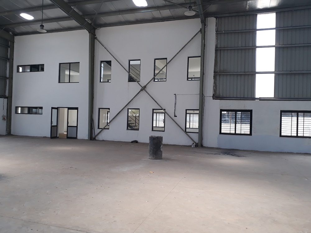 95000 Sq.ft Industrial Shed for lease in Narol Ahmedabad