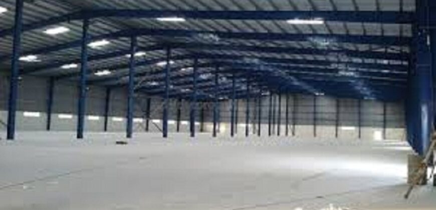 750000 sq.ft | Industrial Factory available for lease in Chhatral, Ahmedabad
