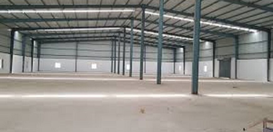 60000 sq.ft Warehouse or Godown for lease in Aslali, Ahmedabad