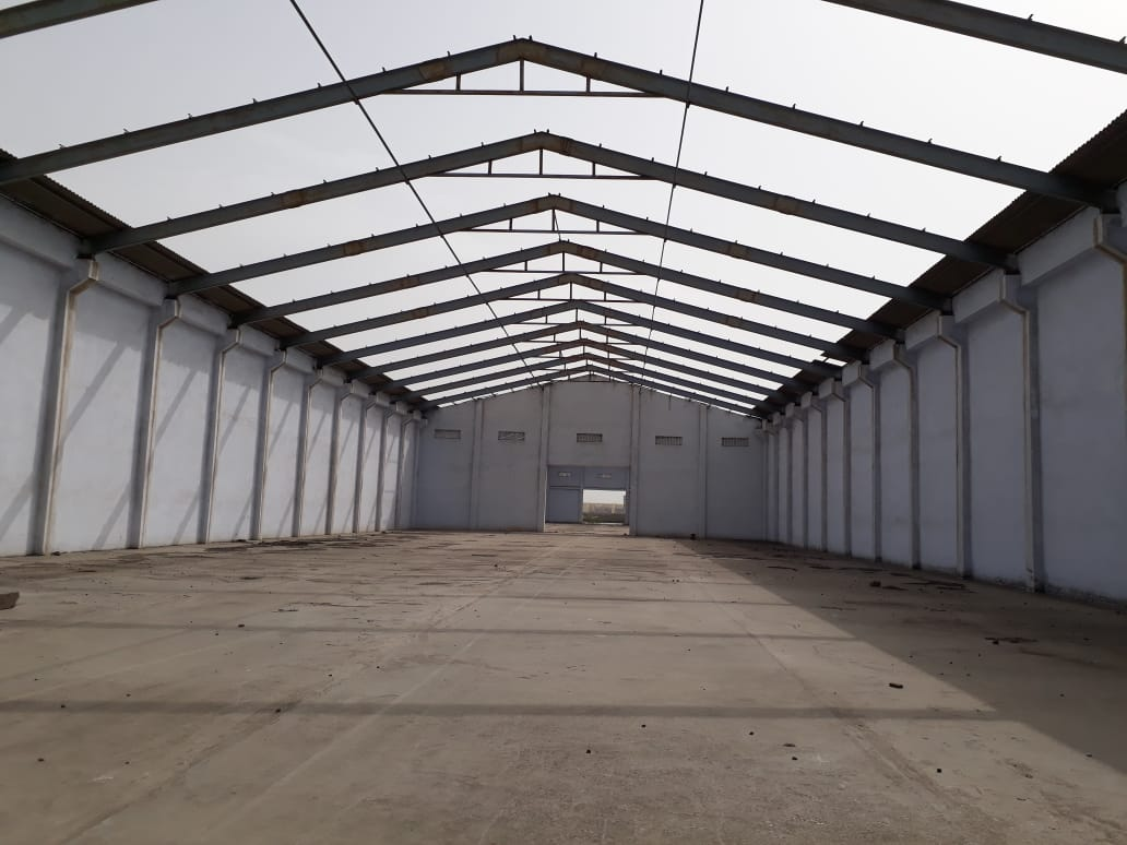 52000 Sq.ft Industrial Shed for rent in Narol Ahmedabad