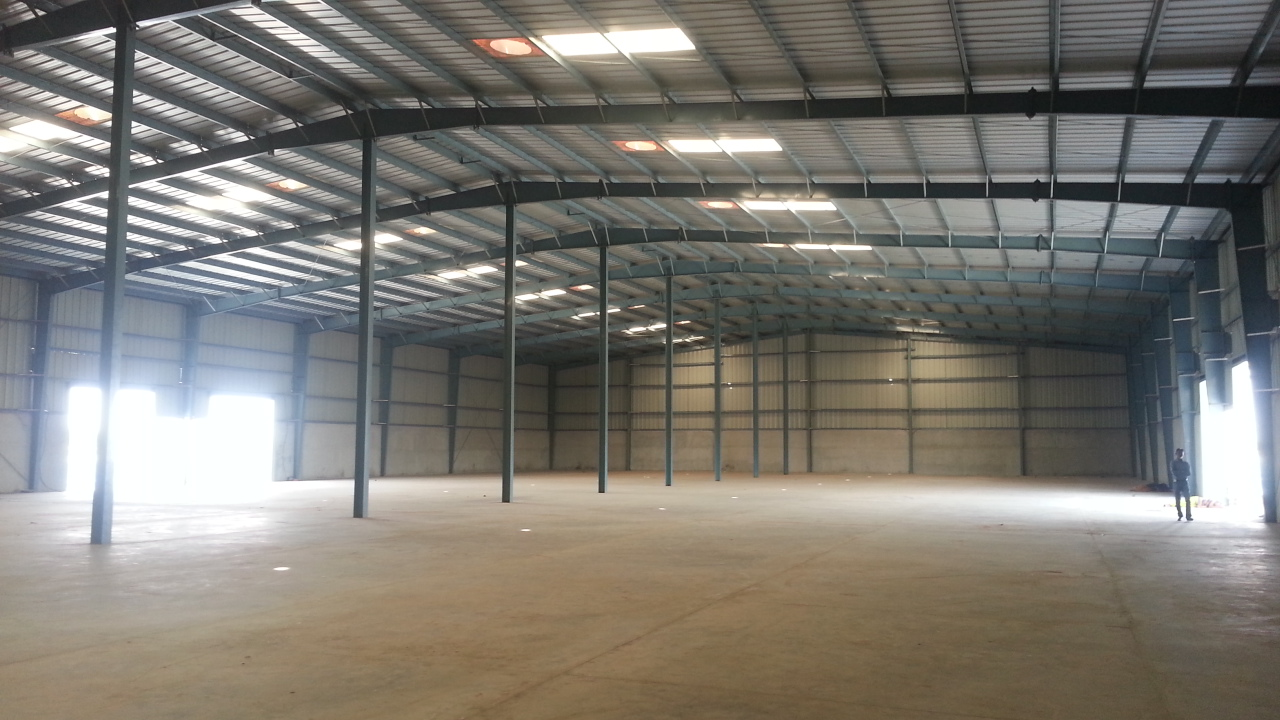 53000 Sq.ft Industrial Shed for rent in Vithalapur