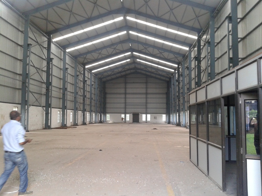 35000 Sq.ft Industrial Shed for lease in Kadi Ahmedabad