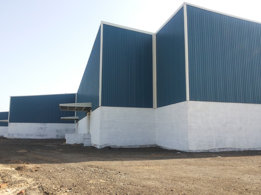 90000 Sq.ft Industrial Shed for lease Santej