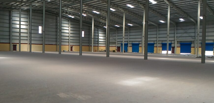 94000 Sq.ft Warehouse for rent in Narol Ahmedabad