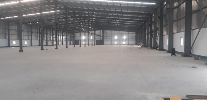 85000 Sq.ft Industrial Shed for lease in Kheda