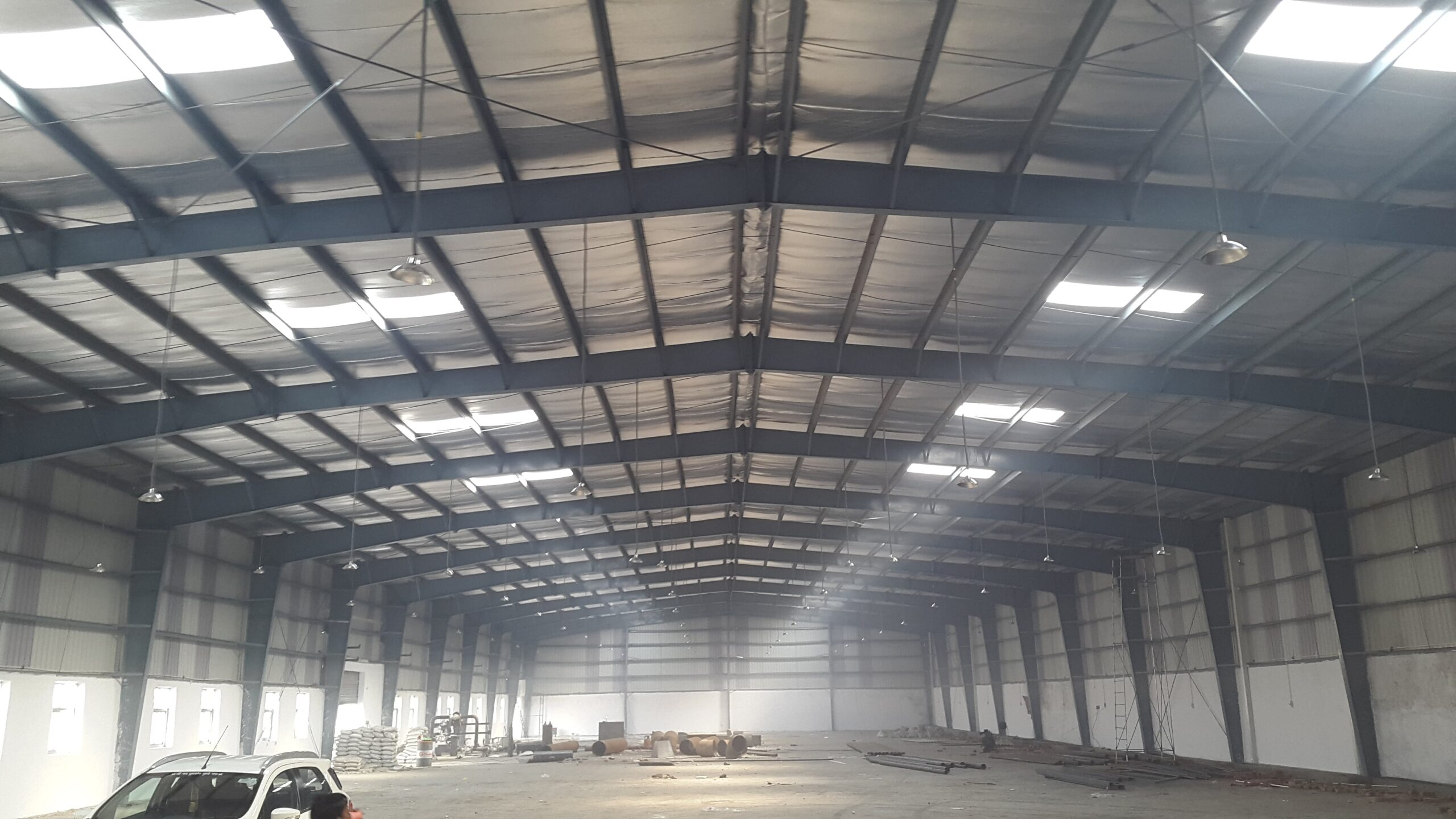 52000 Sq.ft Industrial Shed for lease in Adalaj Ahmedabad