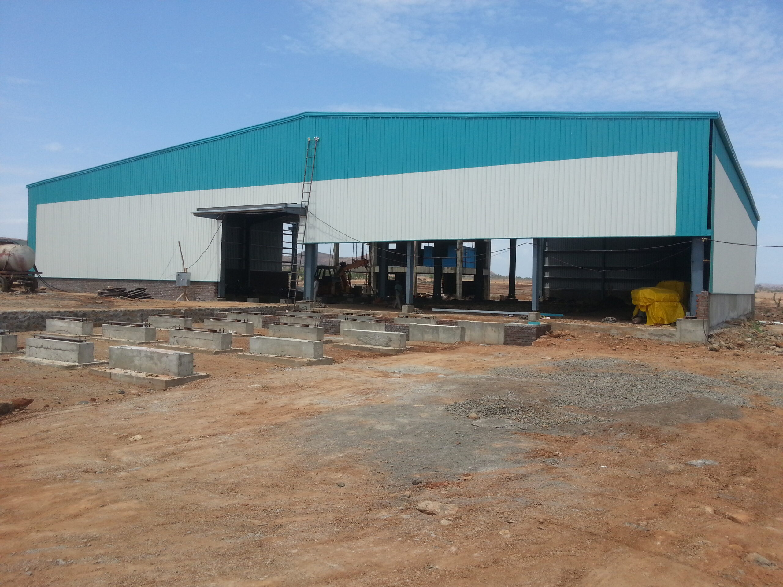 55000 Sq.ft Industrial Shed for lease in Aslali Ahmedabad