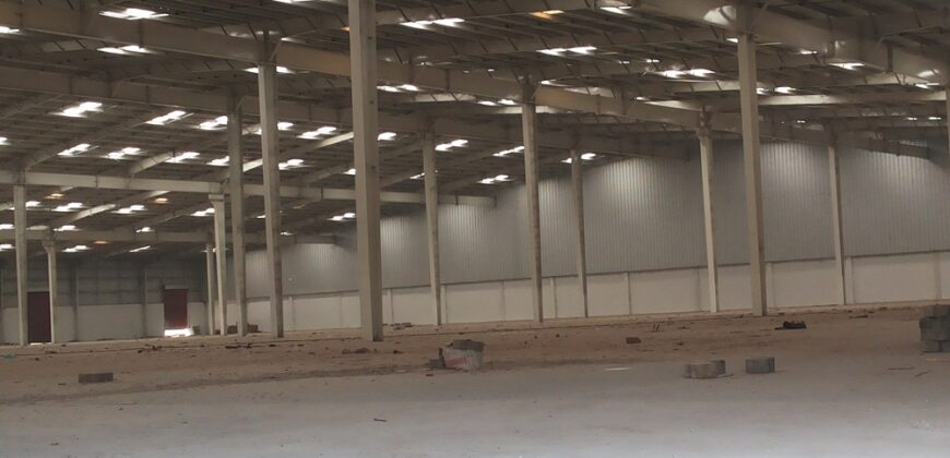 63000 Sq.ft Storage for lease in Changodar Ahmedabad