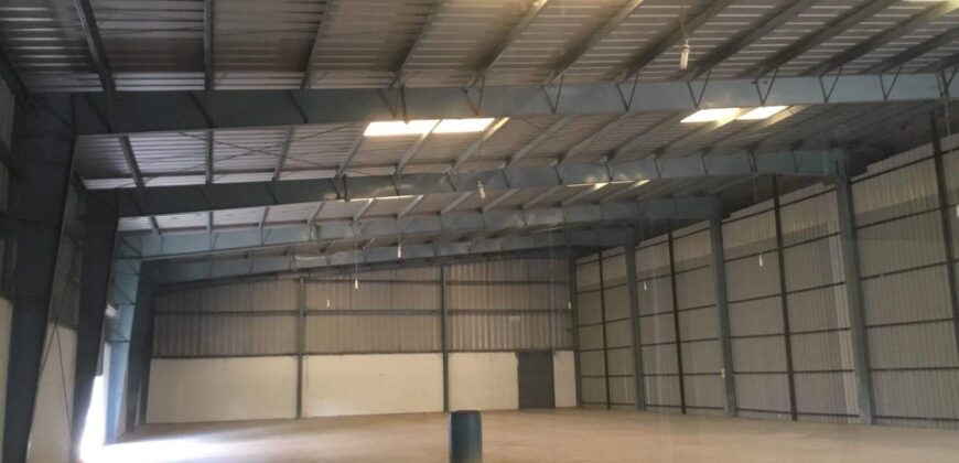 89000 Sq.ft Industrial Shed for lease in Aslali Ahmedabad