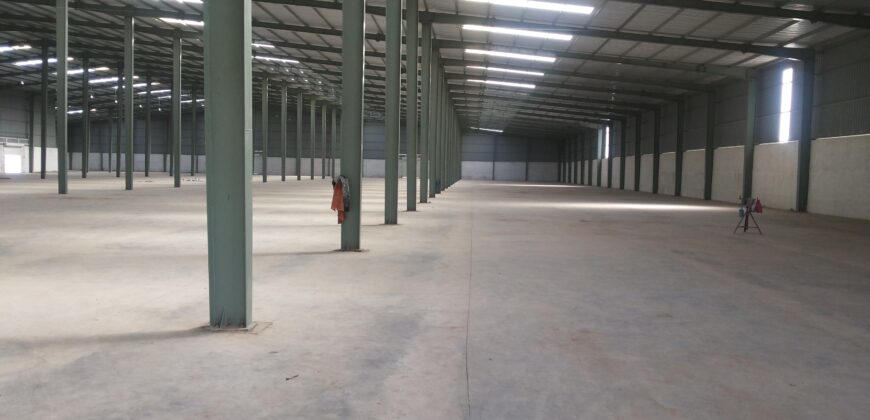 68000 Sq.ft Warehouse for lease in Changodar Ahmedabad