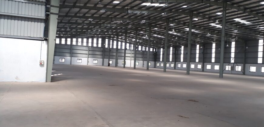 60000 sq.ft | Industrial shed for rent in Kathwada, Ahmedabad