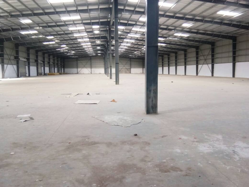 67000 Sq.ft Industrial Shed for lease in Adalaj Ahmedabad