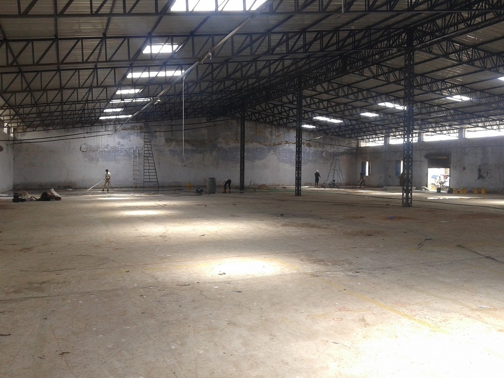 95000 Sq.ft Industrial Shed for lease in Chhatral Ahmedabad