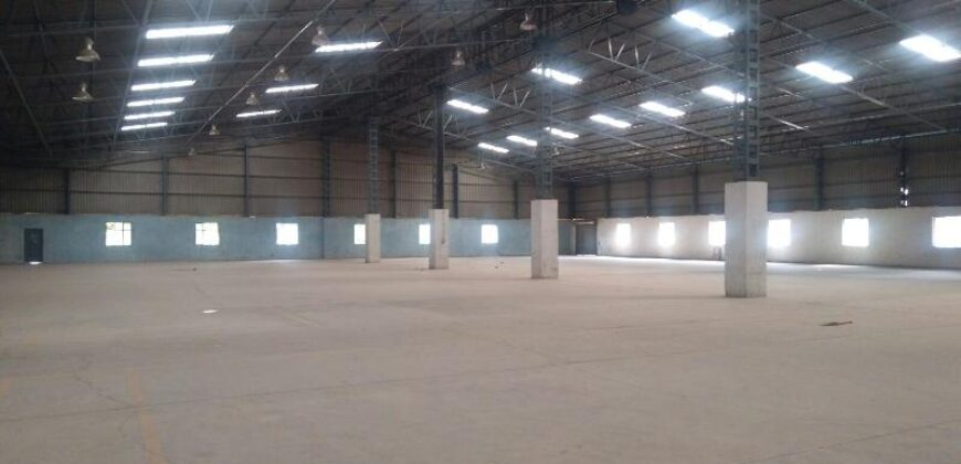 80000 sq.ft | Industrial Shed for lease in Kadi, Ahmedabad