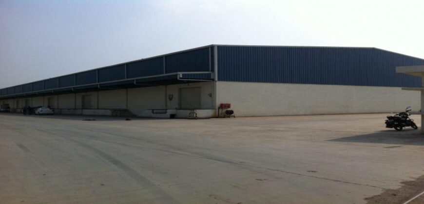 68000 sq.ft Industrial Shed for Lease in Bavla, Ahmedabad