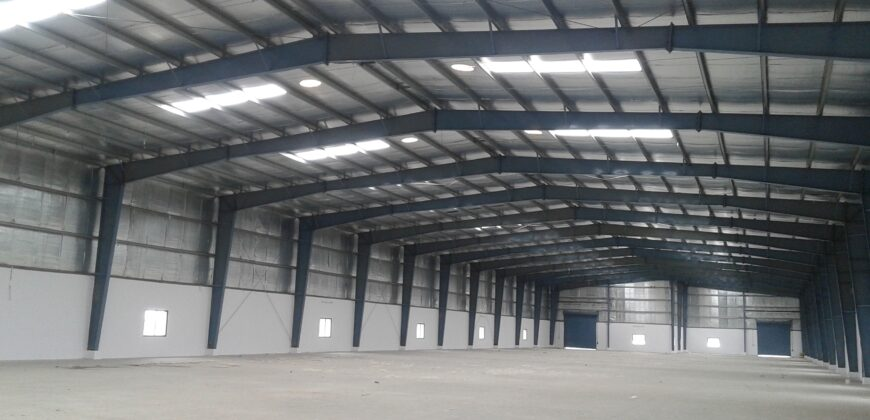 220000 sq.ft Industrial Shed for Rent in Adalaj, Ahmedabad