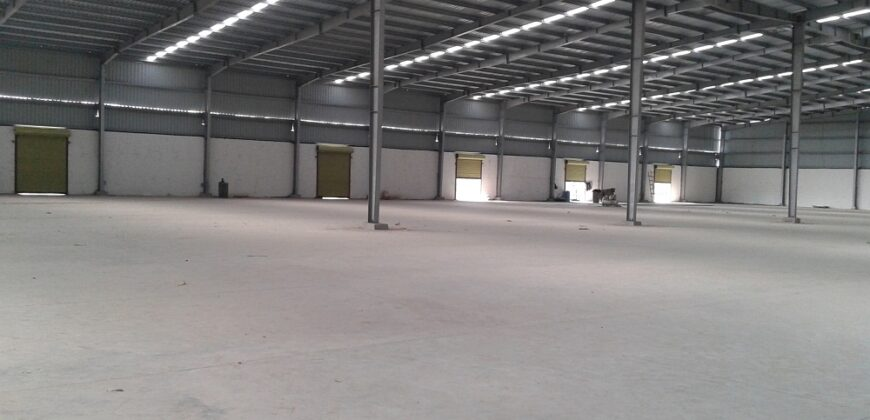 32000 sq.ft to 50000 sq.ft Find Warehouse in Kheda