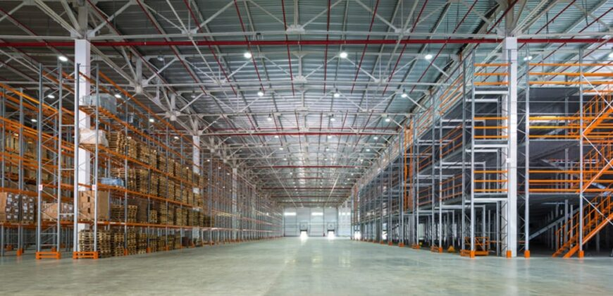 60000 Sq.ft Industrial Shed for rent in Kathwada