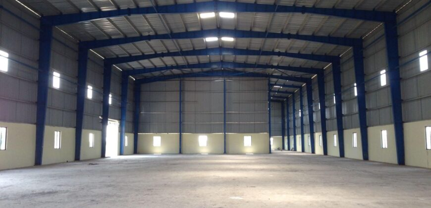 150000 Sq.ft Warehouse Space for rent in Sanand, Ahmedabad